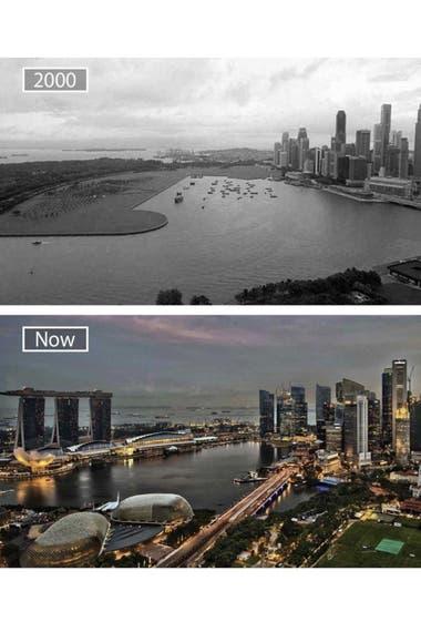 Singapur, la evolución del país de Asia en menos de 20 años