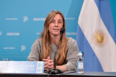 La directora general de Cultura y Educación de la Provincia de Buenos Aires, Agustina Vila