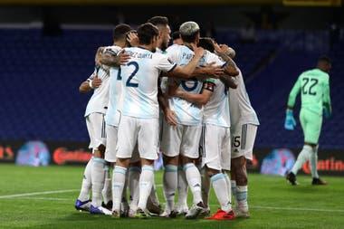 Argentina debutó con un triunfo en las Eliminatorias, ante Ecuador, el jueves.