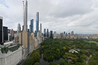 Los neoyorquinos cambiaron el Central Park por viajes fuera de la ciudad