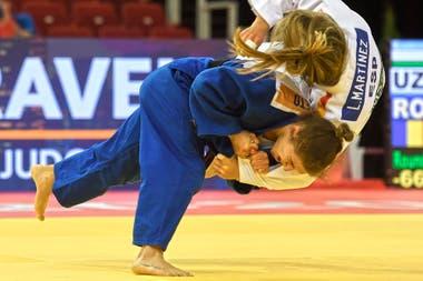 Frente a la española Laura Martínez, Paula Pareto logró el triunfo que la llevó a las semifinales.