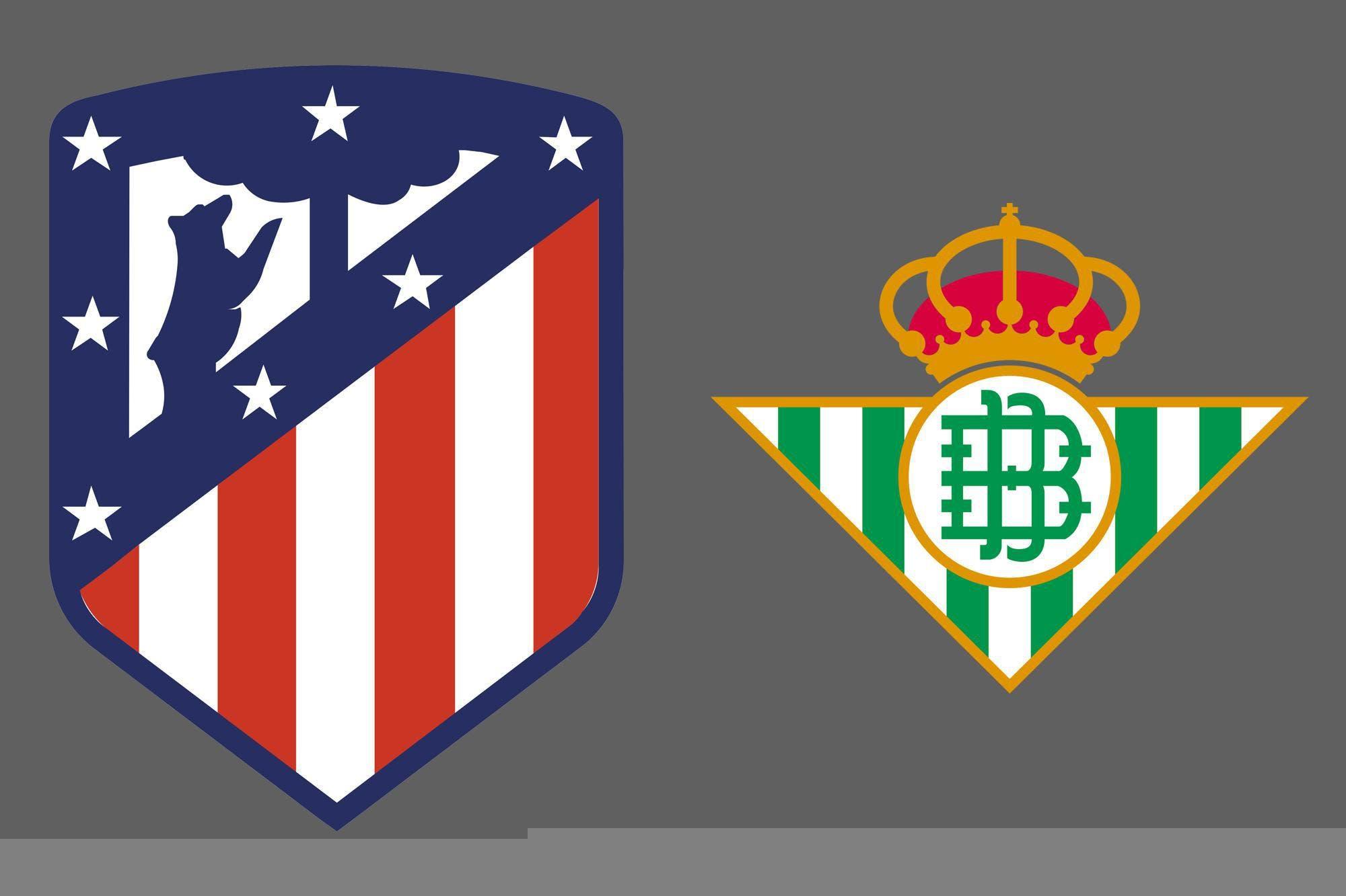 Liga de España: Atlético de Madrid venció por 2-0 a Betis como local