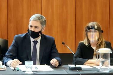 Los fiscales Sobko y Carmona. Pidieron que la situación vuelva a antes de la toma