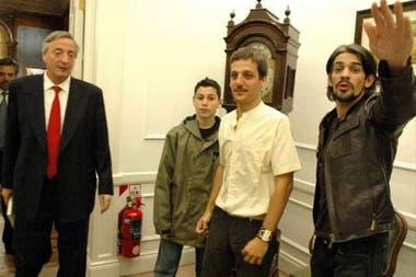 Pablo Echarri se reunió con Néstor Kirchner en 2005 para pedir por la ley para la protección de la propiedad intelectual de los actores