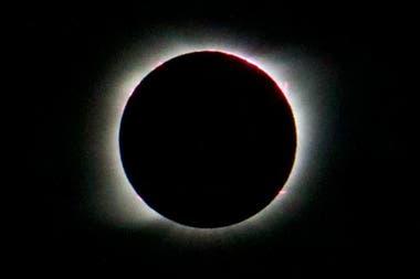 Hasta ayer Lewis nunca había visto un eclipse