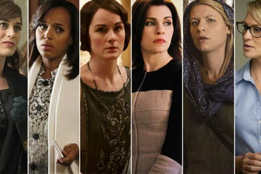 Lizzy Caplan, Kerry Washington, Michelle Dockery, Julianna Margulies, Claire Danes y Robin Wright, las actrices dramáticas del año
