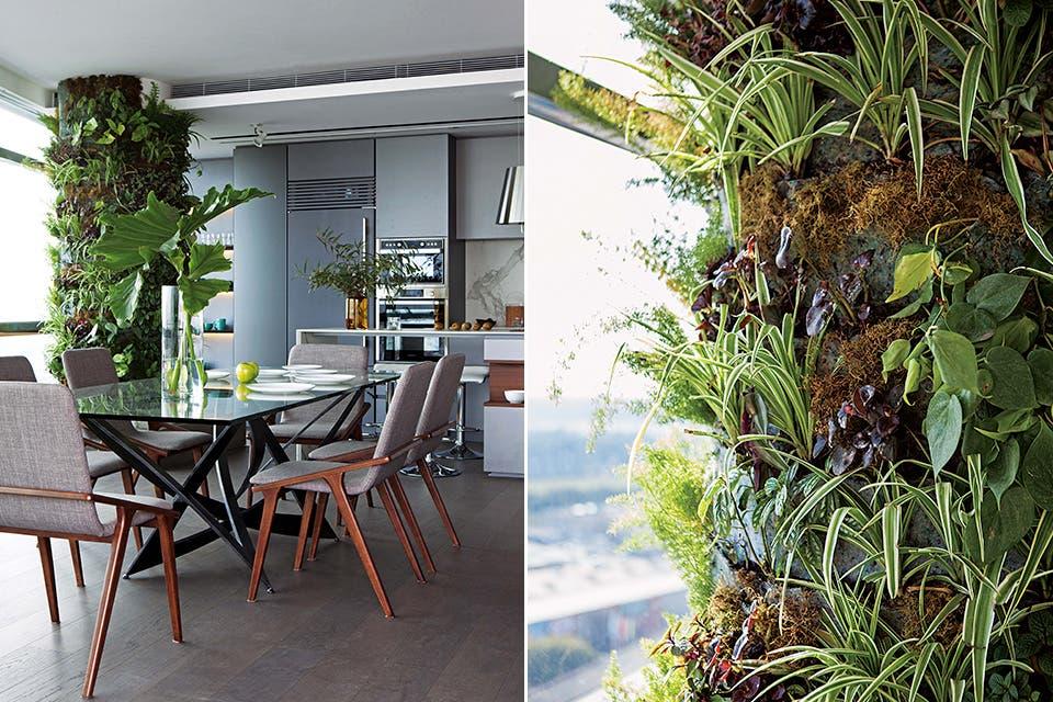 Piso 27 un departamento con la gracia de los jardines for Caracteristicas de los jardines verticales