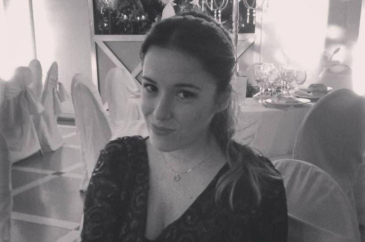 La joven de 28 años es una de las cinco víctimas del accidente en helicóptero
