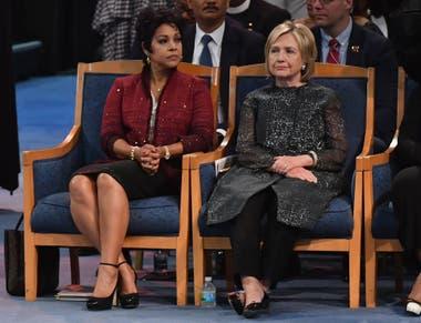 Varias figuras de la política de Estados Unidos participaron en la despedida
