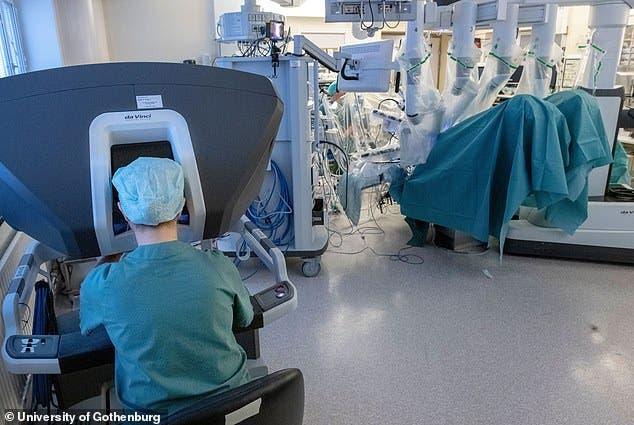 Una mujer sueca quedó embarazada después de un trasplante de útero asistido por robots