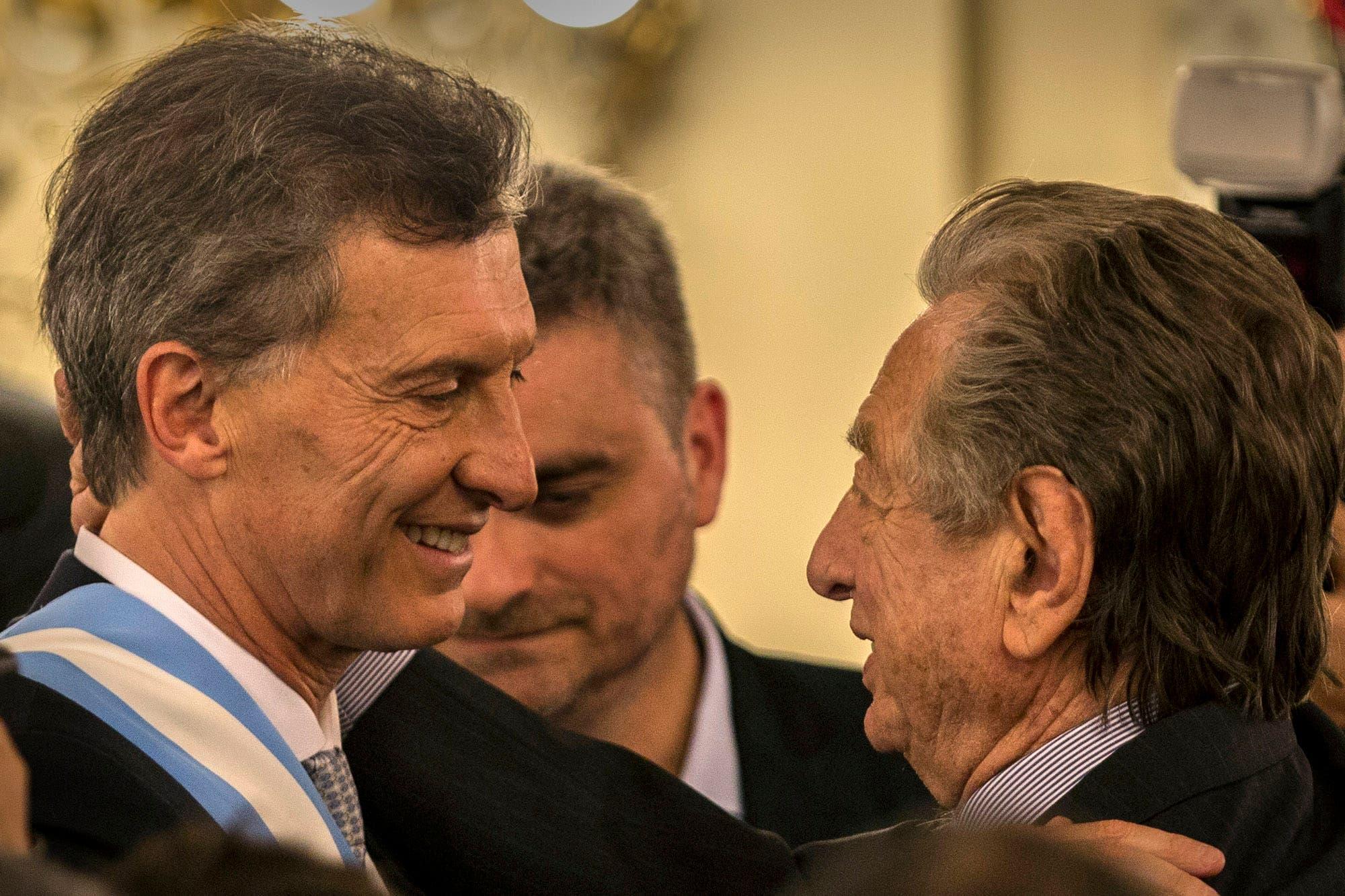 Macri habló sobre la delicada salud de su padre y contó una cruda anécdota