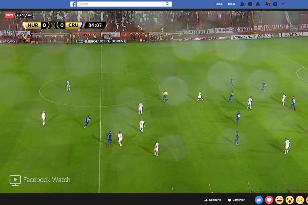 Comenzó la era de Facebook en la Copa Libertadores  partidos exclusivos 36f19f269