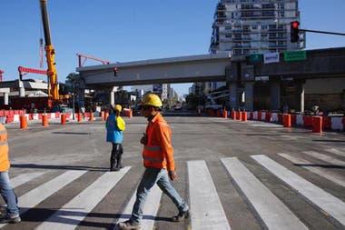 El 15 de mayo reabrieron el trnsito en la avenida Crdoba a la altura de Juan B Justo