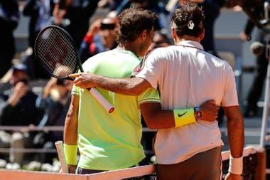 La retirada de dos gladiadores: Nadal y Federer