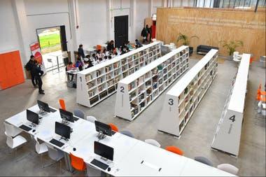 La nueva biblioteca