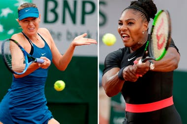 Sharapova vs. Serena Williams, un clásico femenino para la primera rueda