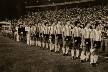 El equipo que enfrentó a la exUnión Soviética en la final