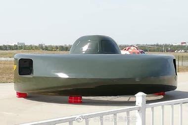 El helicóptero chino con el particular diseño circular es un modelo de ataque y con capacidad para dos tripulantes