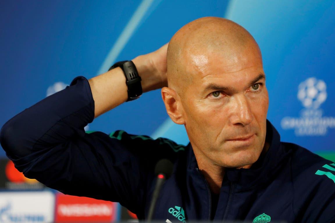 Zidane, en el ojo de la tormenta
