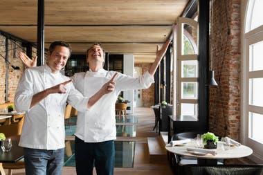 Los hermanos Torres chef de Dos cielos Madrid