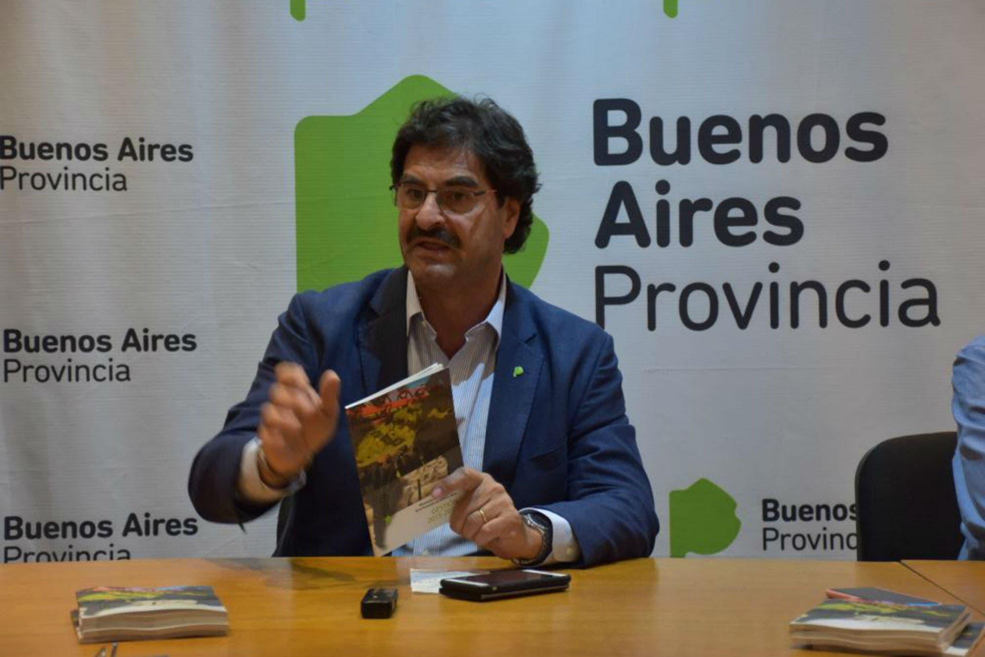 """Para Sarquís, la provincia de Buenos Aires queda """"con obras por todos lados"""""""