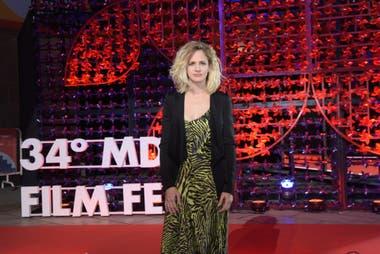 Leonora Balcarce fue una de las encargadas de otorgarle una distinción a Graciela Borges por su trayectoria