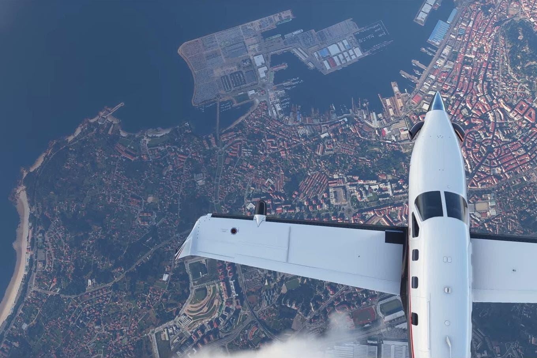 Impactante: así se ve el mundo desde el cielo en el nuevo Flight Simulator 2020