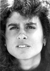 24) Un primer plano, en diciembre de 1991. La belleza y la frescura de Sabatini siempre resultaron una gran atracción para el público.