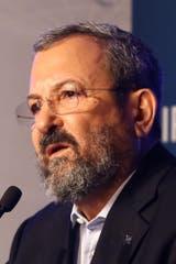 El exprimer ministro de Israel Ehud Barak