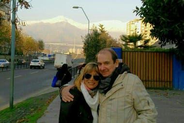 Con Isabel, su mujer, no se privaban de viajar por placer. Santiago de Chile era uno de los destinos favoritos de la pareja