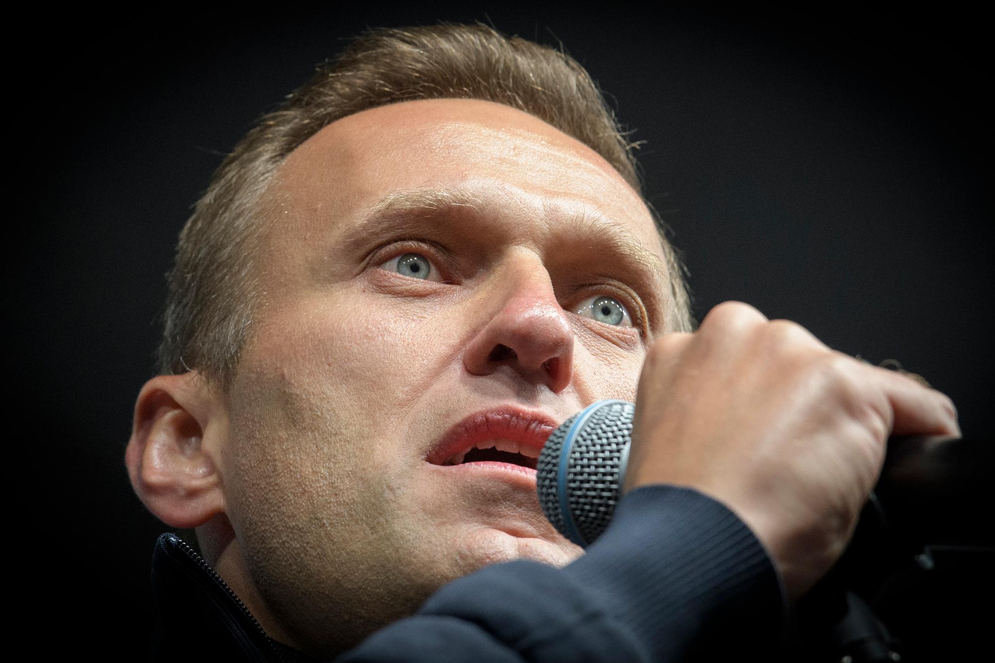 Alemania denuncia rastros de veneno en Alexei Navalny