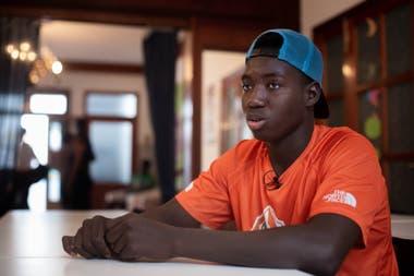 Un adolescente de Mali que llegó a las Islas Canarias en septiembre