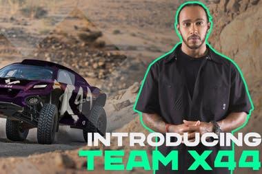 Con Team X44, Lewis Hamilton suma otra causa a su lista de proclamas: la concientización ambiental; el británico es propietario de un equipo de Extreme E, la categoría de autos eléctricos de tipo SUV que en 2021 visitará a la Argentina