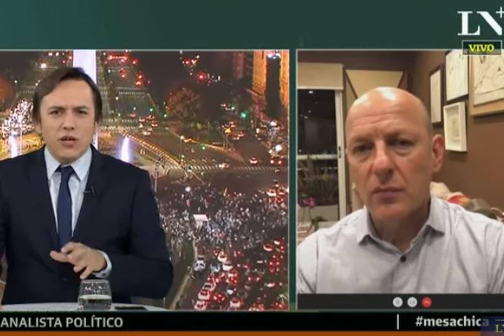 """Sergio Berensztein, sobre las manifestaciones: """"Hay una disputa por el control de la calle"""""""