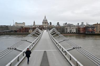 El precio de la vivienda en Londres es uno de los motivos por los que los trabajadores europeos deciden marchar ante la falta de ingresos provocada por la crisis del covid-19