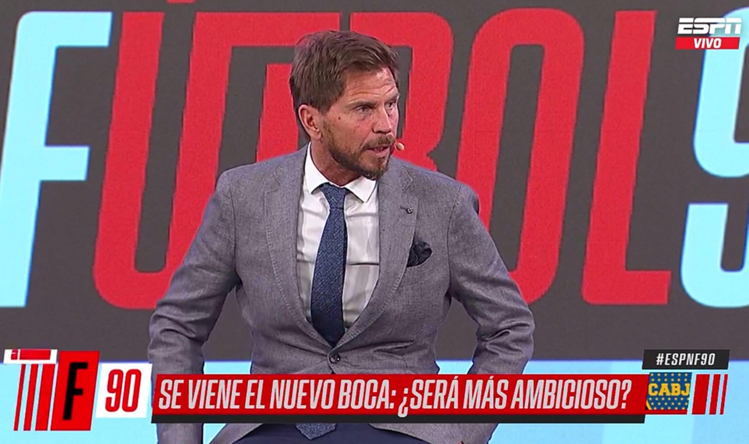 """Pollo Vignolo, sobre el 11 de Boca: """"No crean que Tevez va a ser titular indiscutible"""""""