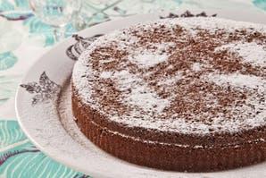 Torta de cacao y yogur