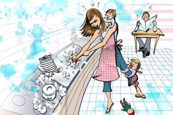 1a887eacb Injustas diferencias entre madres y padres - LA NACION