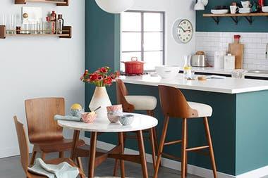 Solución 336: soluciones para decorar tu comedor con cocina ...