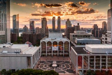 Vista aérea de Lincoln Center
