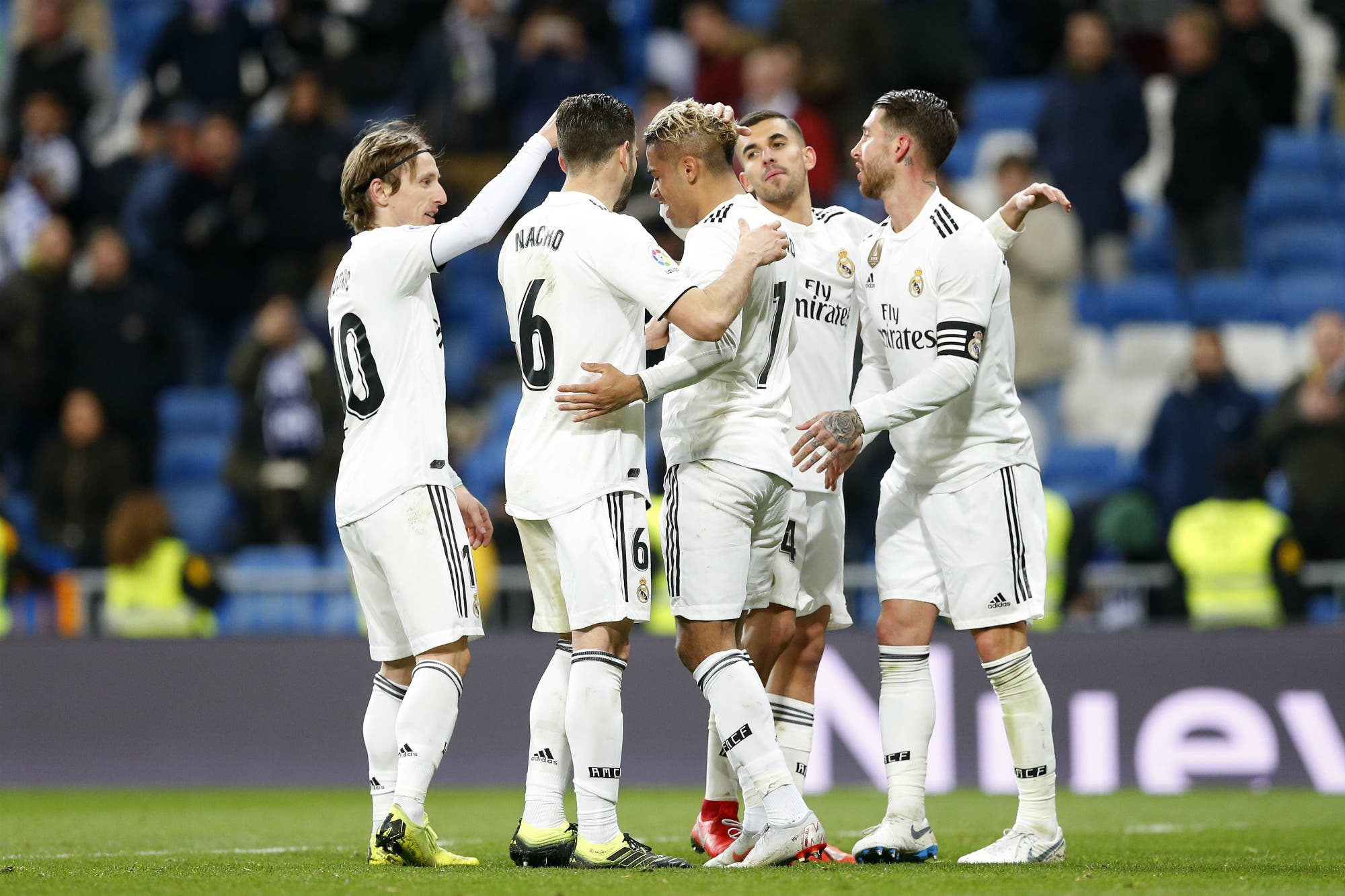 Real Madrid ganó en la Liga y llega entonado para el clásico contra Barcelona