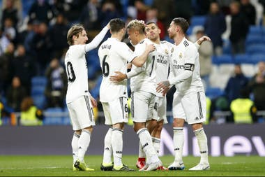 Festeja Real Madrid; el club merengue llegan entonado al clásico contra Barcelona