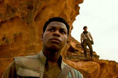 Finn (Jon Boyega), en una escena del film