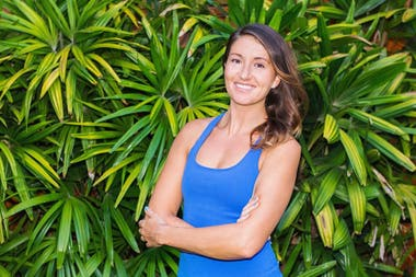 Amanda Eller, una estadounidense de 35 años, fue de excursión a la Reserva Forestal Makawao