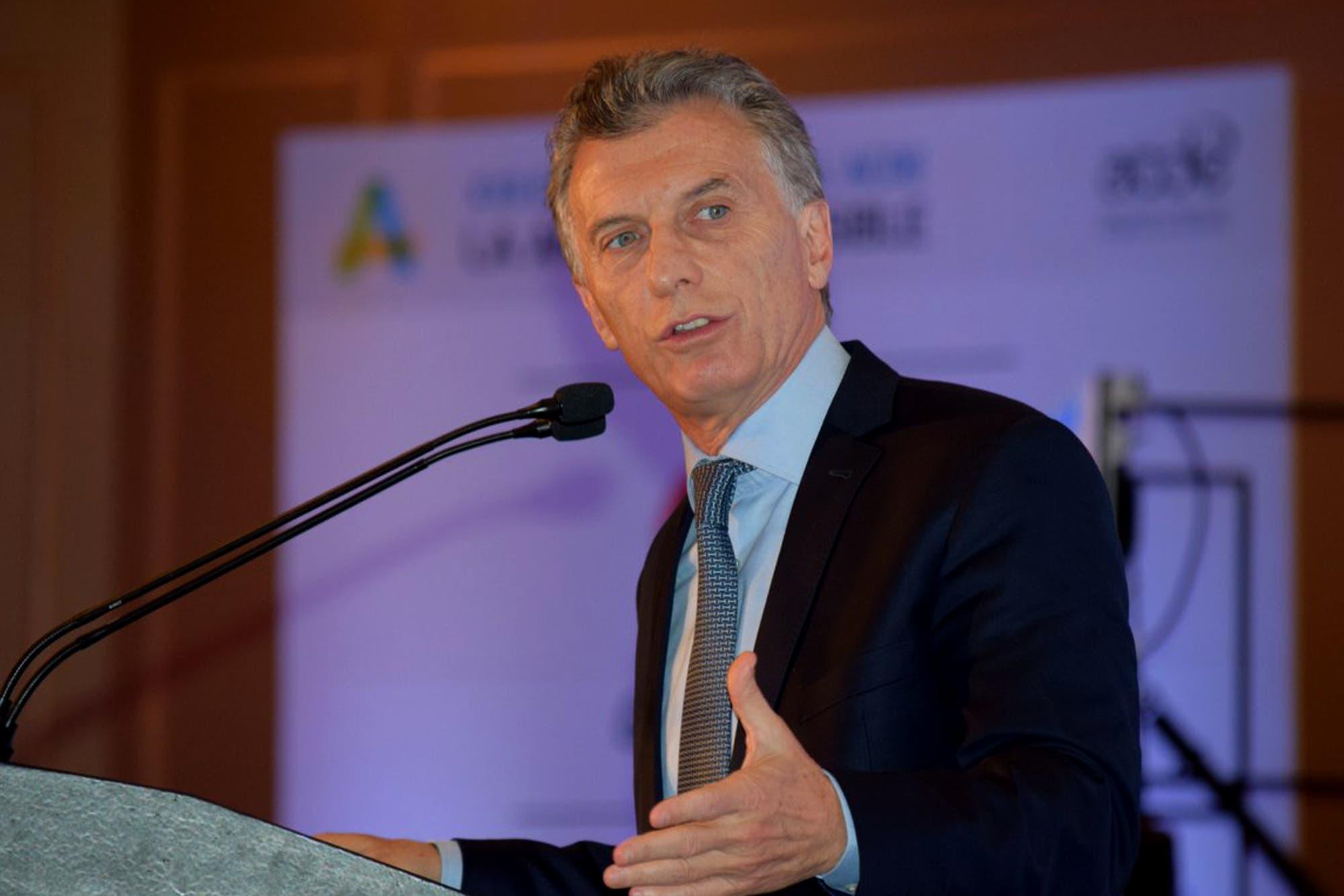 """Macri: """"Las retenciones a la exportación son un mal impuesto que tiene que desaparecer"""""""