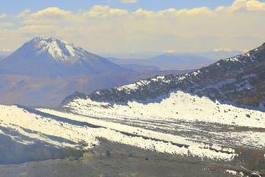La investigación se realizó en los alrededores del volcán Llullaillaco en Chile