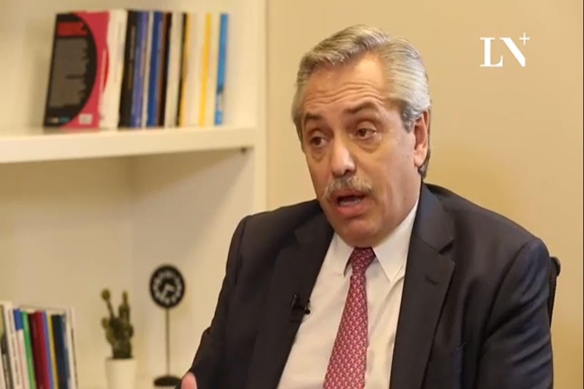 """Alberto Fernández, sobre los dichos de Aníbal a Vidal: """"Se equivocó feo"""""""