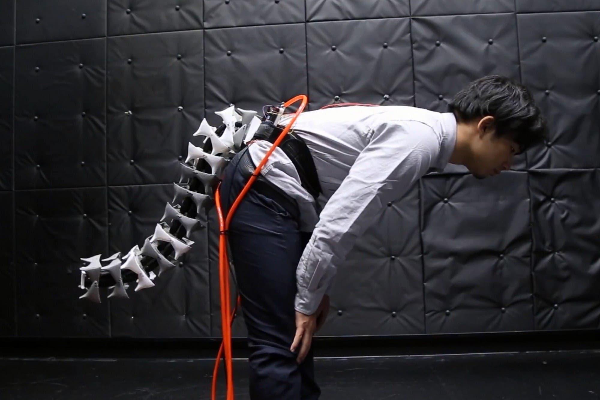 Crean una cola robótica para tener la agilidad y el equilibrio de un gato o un mono