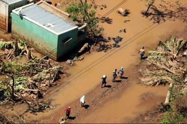 Inundaciones provocadas por el ciclón Idai en Mozambique