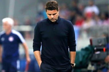 Pochettino, pensante: su Tottenham se quedó sin respuestas ante Olympiakos